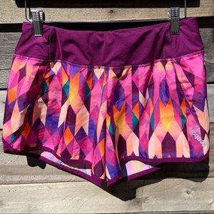 🌻Reebok Speedwick Printed Run Shorts Size Small